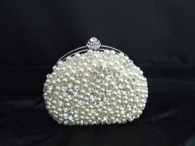Pearl and Diamond Clutch