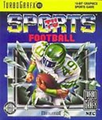 TV Sports Football (Turbo Grfx, TurboGrafx-16)