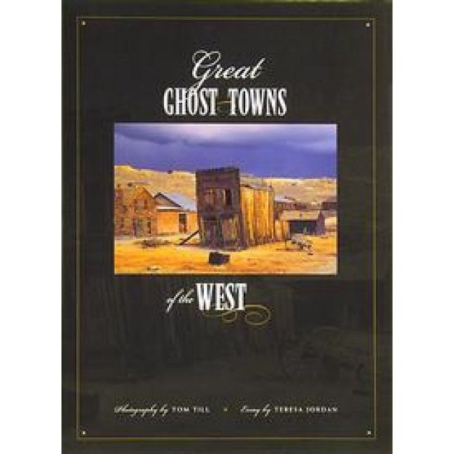 What is it about ghost towns that so intrigues us? Award-winning photographer Tom Till and author Teresa Jordan have collaborated in creating a book that captures the mysterious essence that draws all of us to ghost towns.Where did the people come from who inhabited these ghost towns? How did they get there? Shooting hundreds of ghost towns from New Mexico to Alaska and California to South Dakota. This portfolio includes some of the finest images of  ghost towns ever done.