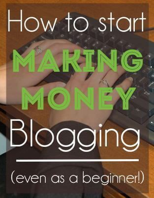 Five REAL ways to start making money with your blog and social media -- even if you're beginner!