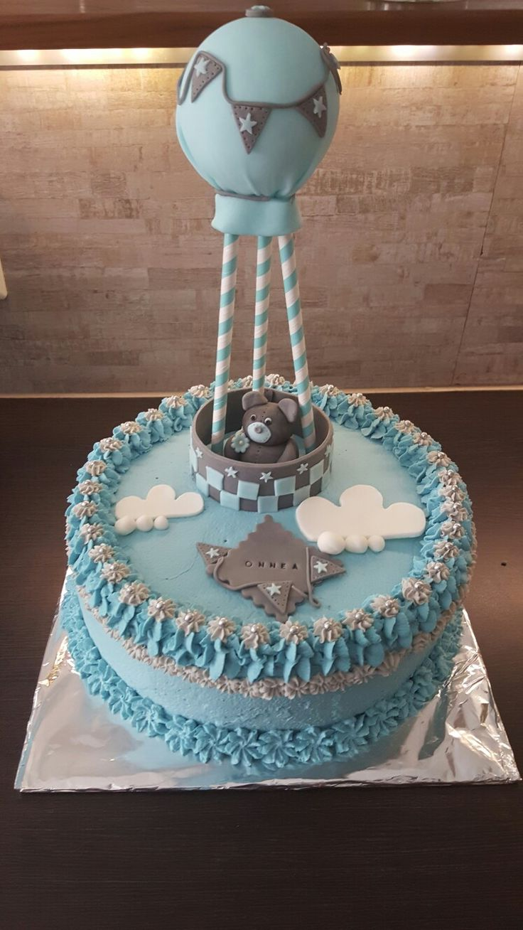 Baby cake, teddy decoration