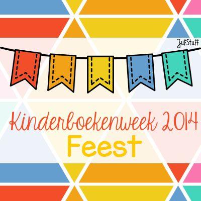 Juf-Stuff: KBW 2014: Even voorstellen en creatief met de Kinderboekenweek 2014