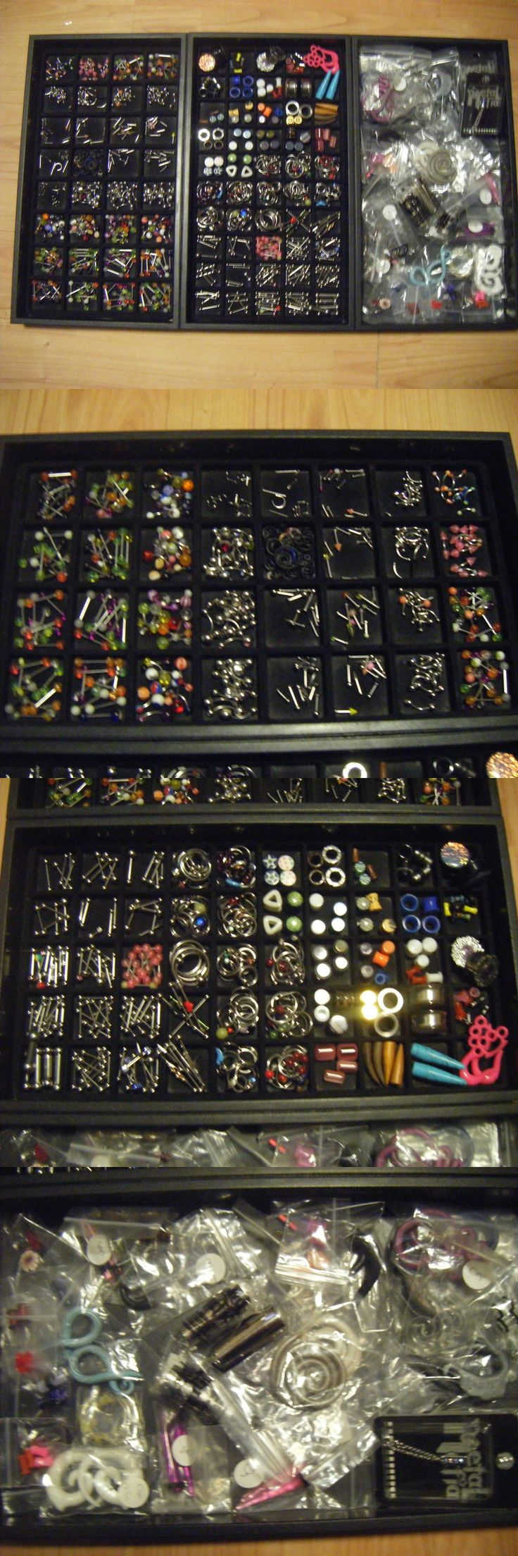Other Wholesale Body Jewelry 51011: Wholesale Body Jewelry Lot Over 700Pc -> BUY IT NOW ONLY: $200.0 on eBay!