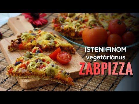 Isteni finom vegetáriánus zabpizza | Szászhegyessy Zita