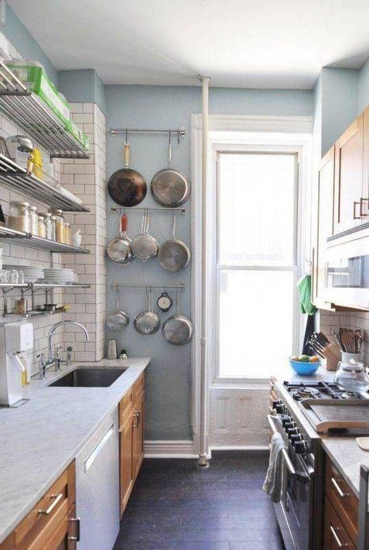 20 Small Galley Kitchen Ideas | Domino