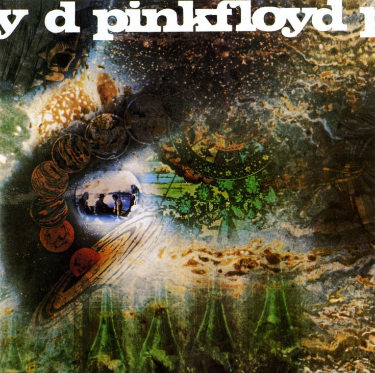 Evolution of Pink Floyd Album Covers, 1968 A Saucerful of Secrets - Retronaut