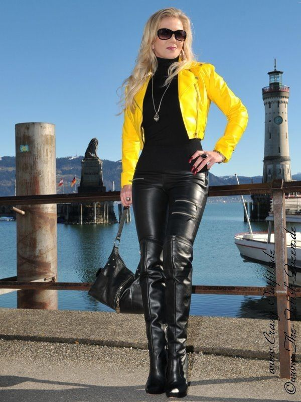 Leather Kingdom Fashion Shop - Lederjacke DS-616 - designed by Crazy Outfits | F3 by costel ...