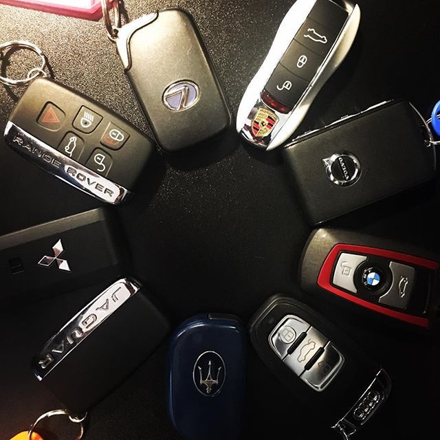 Various Luxury Car Keys Luxury Cars Car Keys