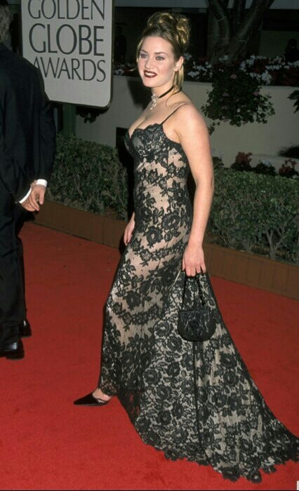 Kate Winslet Golden Globes 1998 Pinterest
