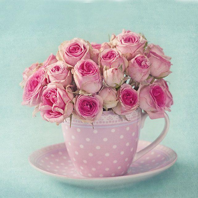 Свадебные тренды: чашки в декоре