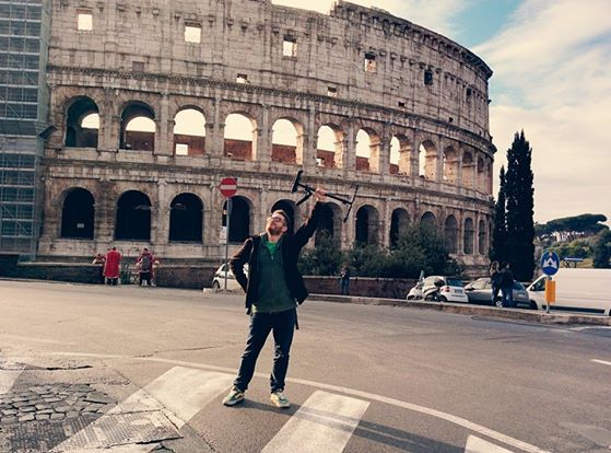 Shooting at Rome #rome #colosseum #roma