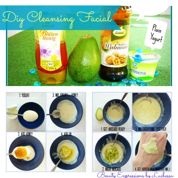 Facial cleansing masque