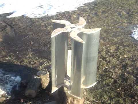 Wind Turbine Vertical Axis Rotor
