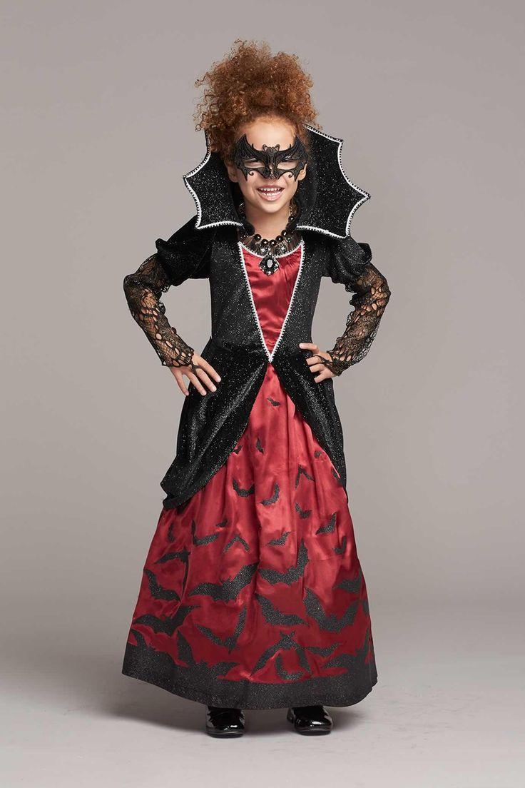 Batty Vampiress Costume for Girls | Chasing Fireflies