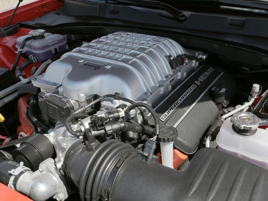 The 707-hp, HEMI V8