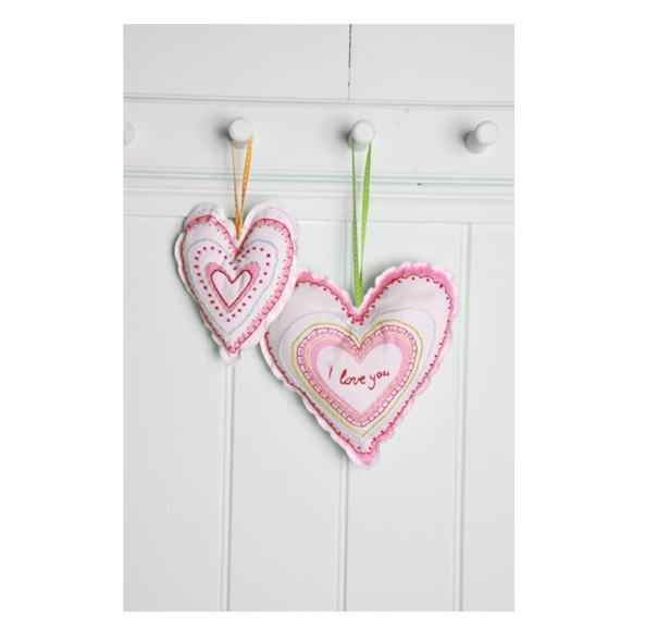 The Little Experience Craft Kits | Embroider It Love Hearts Kit