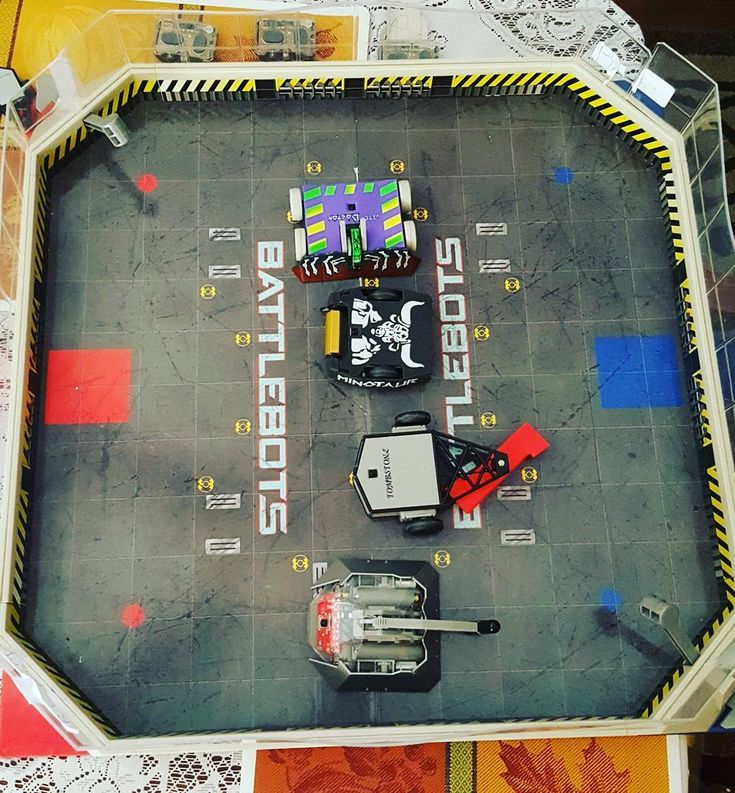 This was actually an awesome board game! #battlebots #norules