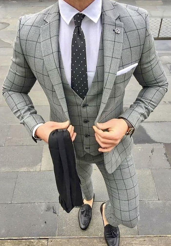 Fancy Three Piece Suit Coat Pant For Boys