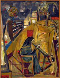 :«Portrait de Vieira» d'Arpad Szenes - Google Search