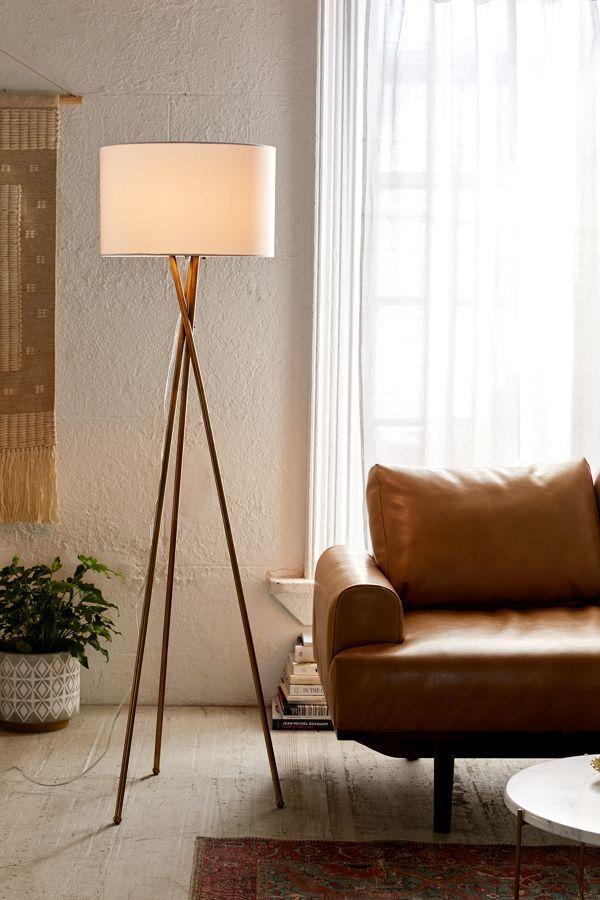 Clara Tripod Floor Lamp Floor Lamps Living Room Tripod Floor