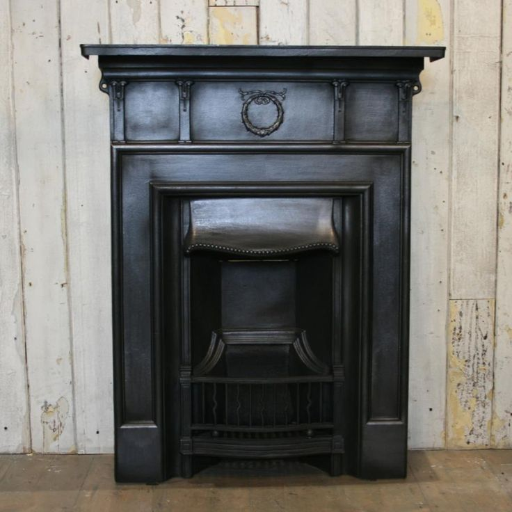 49 Coffee Table Nickel Finish Solid Iron Casters: 1000+ Ideas About Cast Iron Fireplace On Pinterest