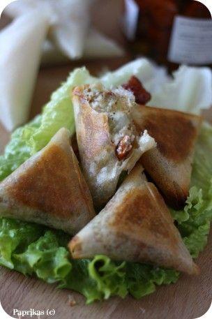 Des fois on a bien envie de manger les sardines en boites autrement que dans une salade ou dans une tarte. J'ai pensé que préparer en farce dans des feuilles de brick sera agréable et c'était le cas ! Vraiment un délice pour un repas léger. Ce qui est...