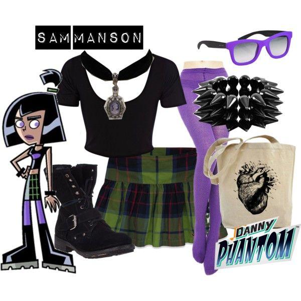 """""""Sam Manson - Danny Phantom"""" by lilyelizajane on Polyvore"""