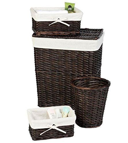 Antique Wash Wicker Lined Storage Basket: 61 Best Laundry Basket Images On Pinterest
