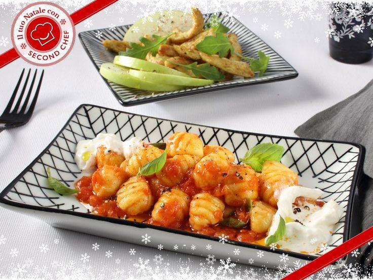 Hai voglia di un menù semplice, ma gustoso? #Second_Chef ti propone Straccetti di pollo al curry con rucola e mela verde e a seguire Gnocchi con fonduta di pomodoro, stracciatella di bufala e basilico! Da leccarsi i baffi! Scopri la #ricetta su http://rebrand.ly/gnocchiconfondutadipomodoro  #incucinaconsecondchef #semplicementecucinare #ricette #food #eat #cucina