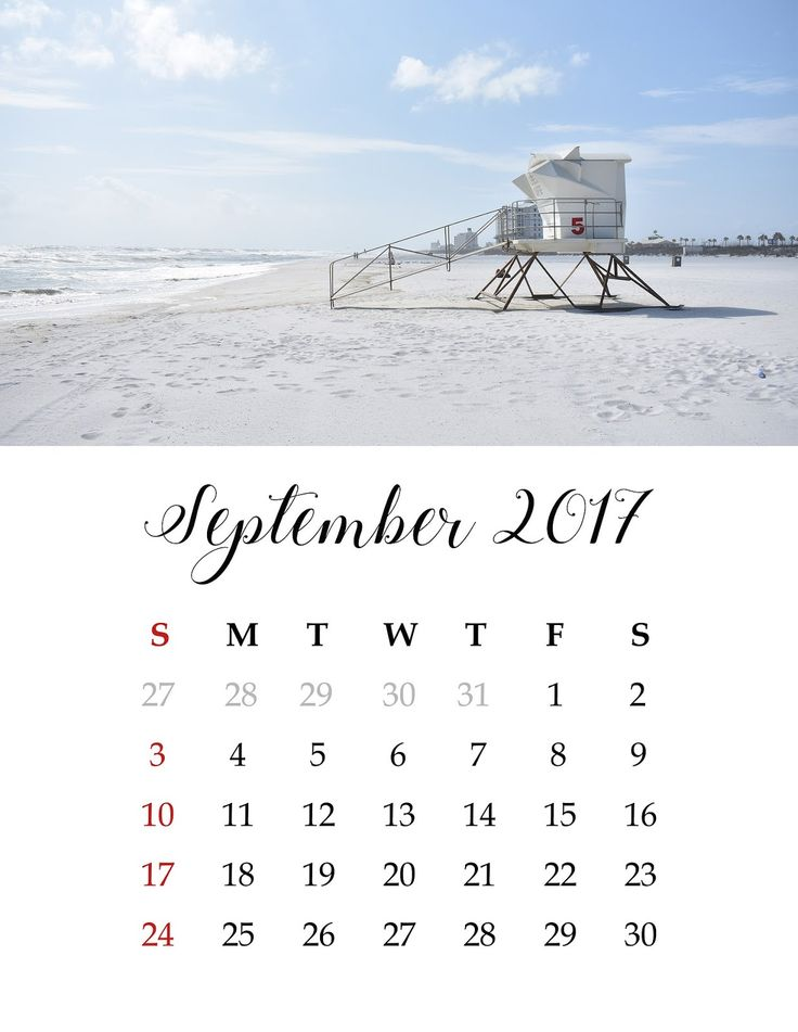 Attractive Calendar, September, Wall Calendar , Free Photos, Free Images, Royalty Free,