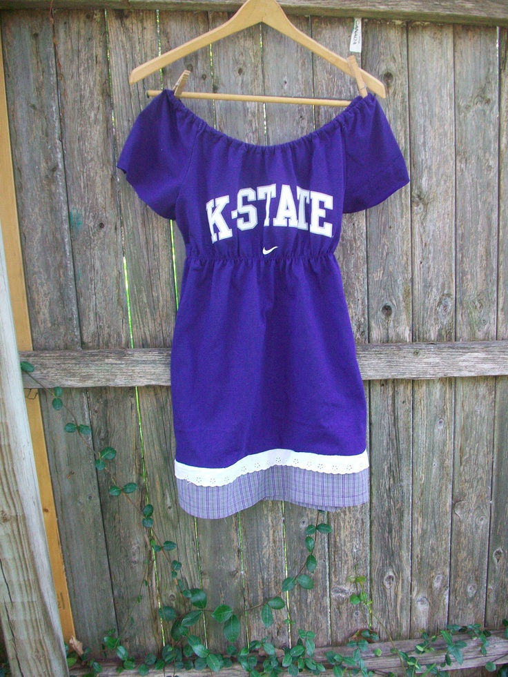 Custom Gameday Dress Kansas State. Go State!