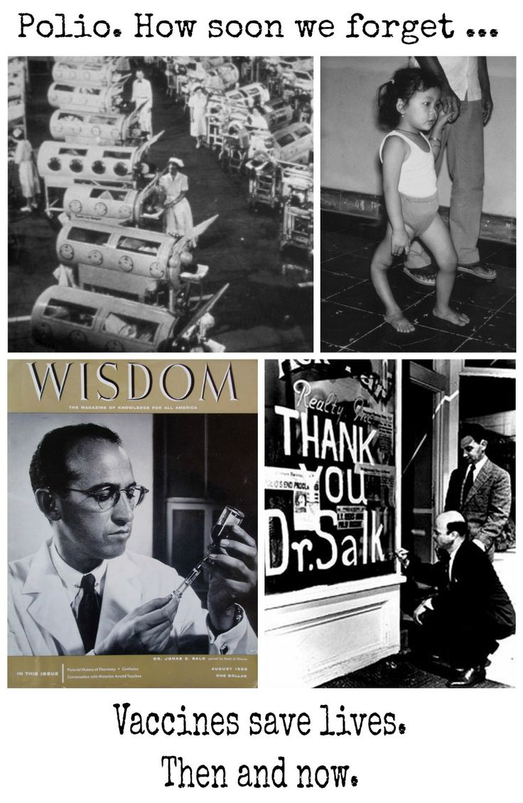 Dr Jonas Salk is one of the