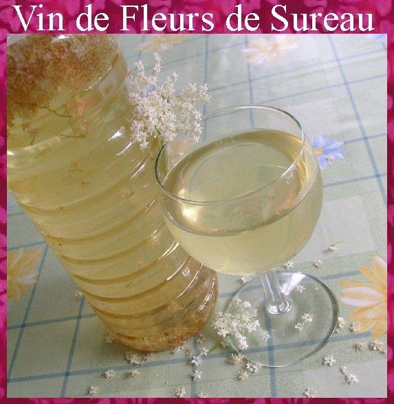 Vin de Fleurs de Sureau ...