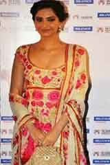 Indian Traditional Cream Satin Anarkali Dresses, Dress