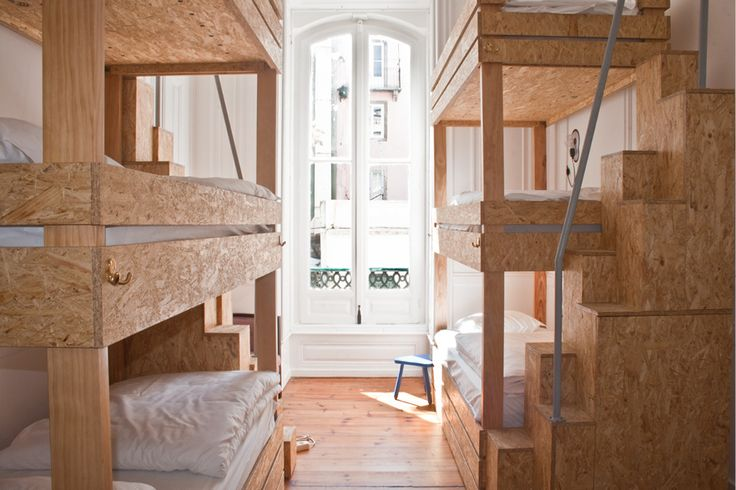 One of Europe's hippest hostels inhabited by jaw-dropping triple bunk beds that will test your cool – up for it?