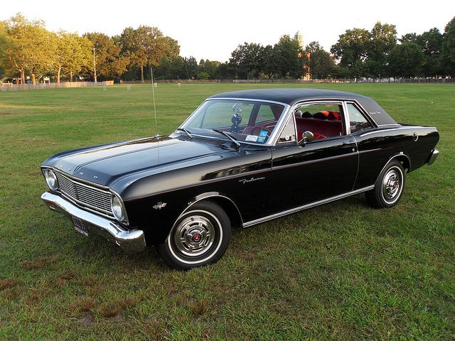 I had one of these,mine was blue...66 ford falcon sport coupe |  With it's H.P. 289 it was one fast little car.