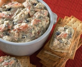 """""""Gumbo dip"""". All the intense Cajun flavors of traditional gumbo, combined into a creamy dip. Serve with crackers and a side of Louisiana hot sauce, for those that like a little kick!"""