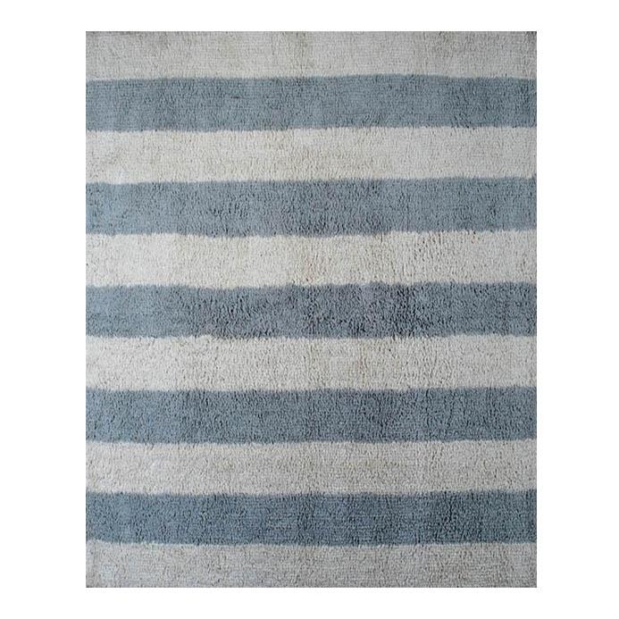 teppich baumwolle listones blau grau 120x160 von lorena canals kinderzimmer pinterest. Black Bedroom Furniture Sets. Home Design Ideas