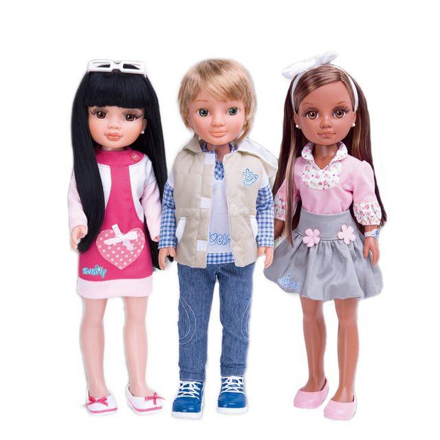 Muñeca Nancy y sus amigos Famosa
