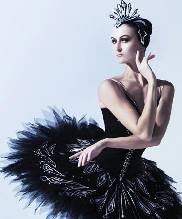 Olivia Bell of the Austalian Ballet as Odile from Swan Lake!    her expression=perfection
