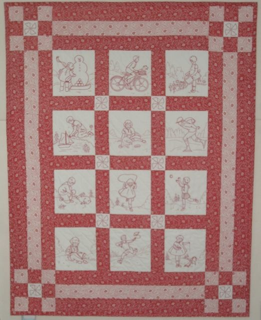 Quilting Redwork Designs : 1000+ images about Red Work Ideas on Pinterest White quilts, Machine embroidery patterns and ...