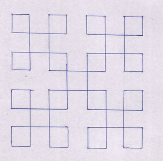 Kutch Work Tutorial: Lesson III - The Double Maltese Cross