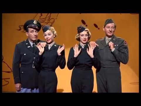 White Christmas   I wish I was back in the army Danny Kaye, Bing Crosby, Rosemary Clooney and Vera Ellen