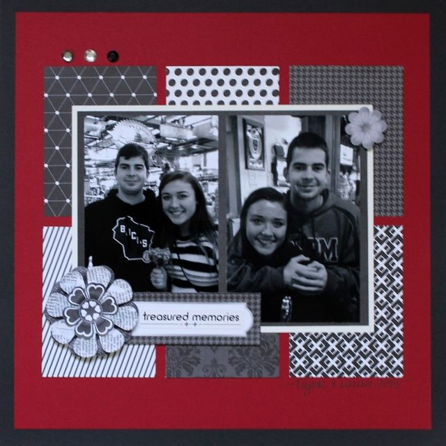 Use Creative Memories Achievements Collection to create non-graduation themed layouts. #CreativeMemories #scrapbooklayouts