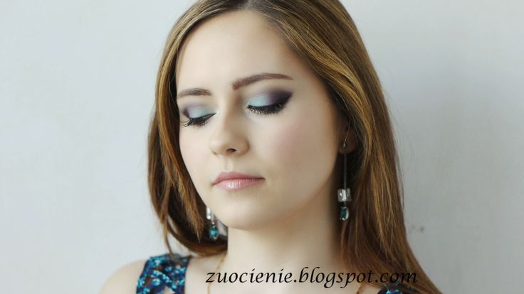 mint purple makeup