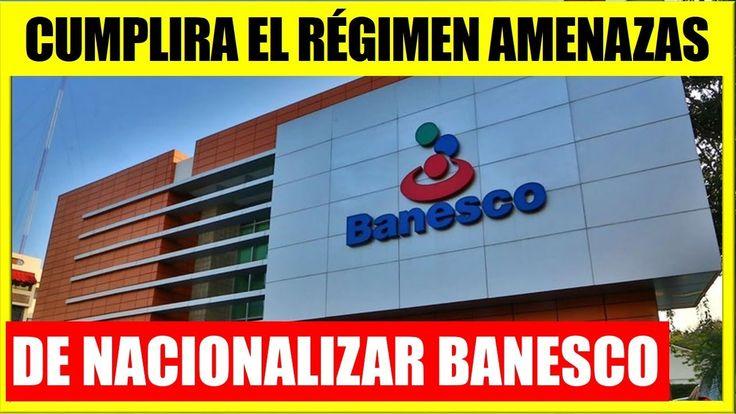 Nacionalizar Banesco sería una Locura Noticias de Ultima Hora Venezuela 2 enero 2018
