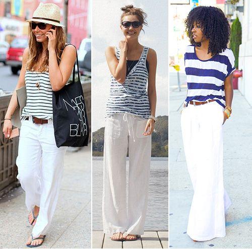 1000  ideas about Linen Pants Fashion on Pinterest | Trousers ...