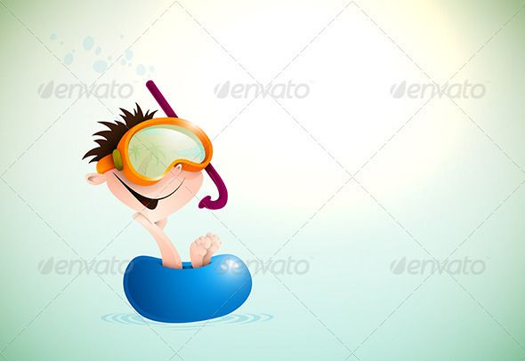 Cute Boy Enjoying Summer At The Beach  #GraphicRiver         Cute Boy Enjoying Summer At The Beach | EPS10 Vector Background | Layers Organized and Named Accordingly | Package contains EPS 10 and AI vector formats + High Res JPG preview     Created: 9October12 GraphicsFilesIncluded: JPGImage #VectorEPS #AIIllustrator Layered: Yes MinimumAdobeCSVersion: CS Tags: background #beach #boy #