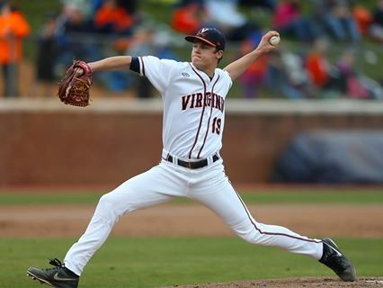 University of Virginia pitcher Nathan Kirby has helped lead the Cavaliers to a #1 overall ranking.