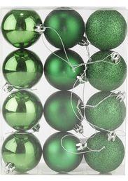 Joulupallo 6cm 12kpl vihreä